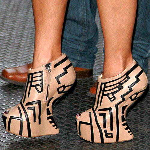 Clearance Giuseppe Zanotti Heelless - 2011 11 05 Giuseppe Zanotti Heel Less Shoes